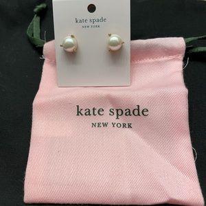 Kate Spade Costume Pearl Earrings